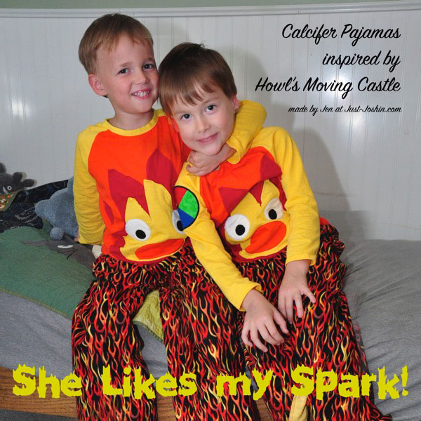 Calcifer Pajamas by Just Joshin CraftingCon 5
