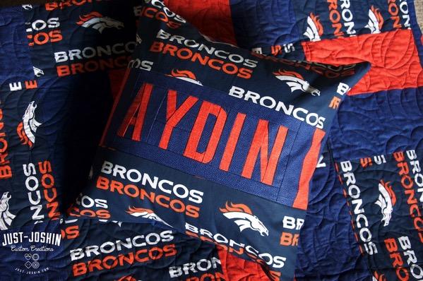 Denver Broncos Quilt | Just-Joshin.com